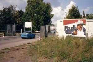 1990 De grens tussen West en Oost Berlijn is opengegaan